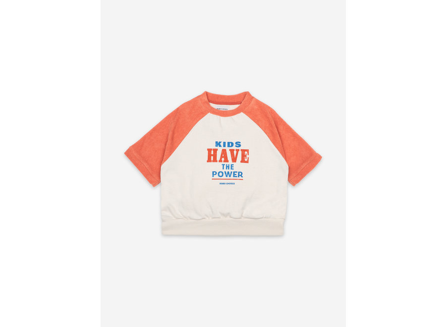 Kids Have The Power Short Sleeve Sweatshirt KID