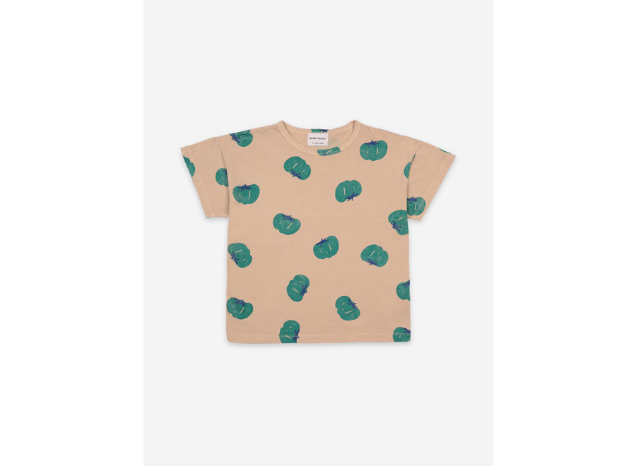 Tomatoes All Over Short Sleeve T-Shirt KID