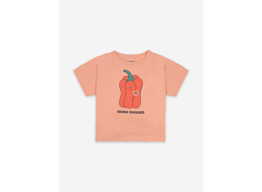 Vote For Pepper Short Sleeve T-Shirt KID