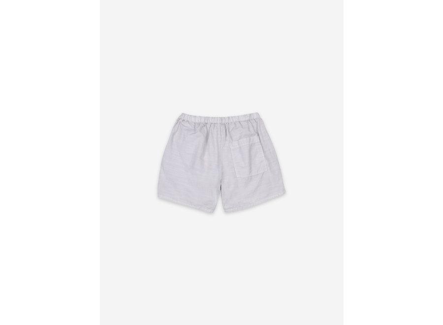 Crosswise Stripes Woven Shorts KID