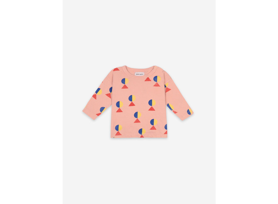 Geometric All over Long Sleeve T-shirt BABY