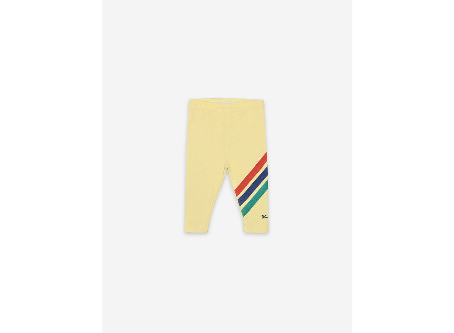 Crosswise Stripes Leggings BABY