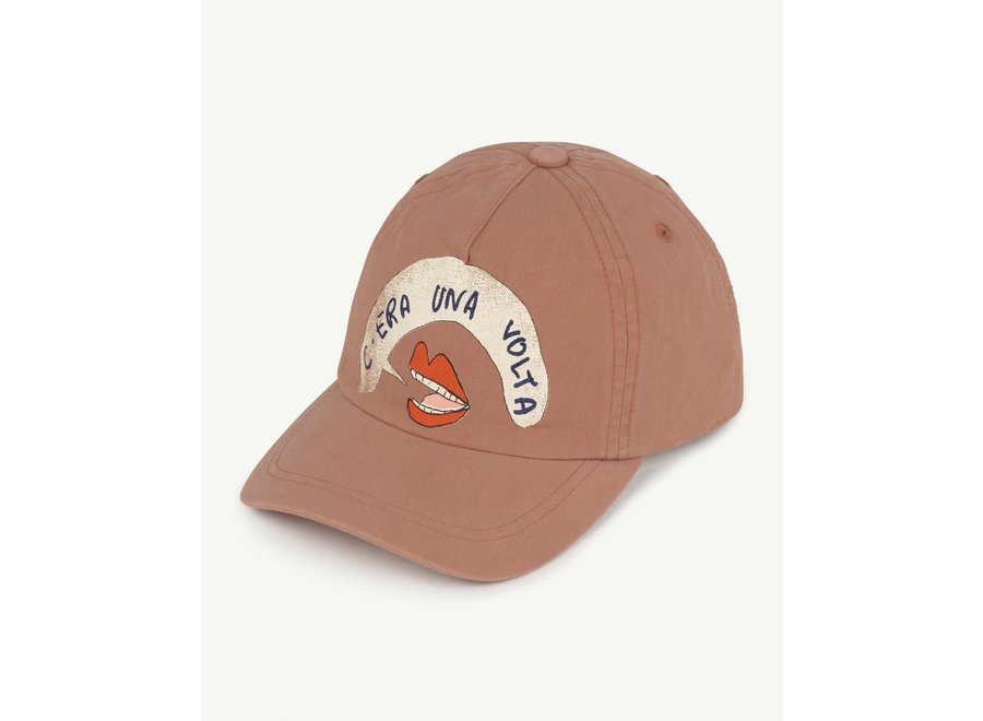 Hamster Cap Brown Mouth // one size