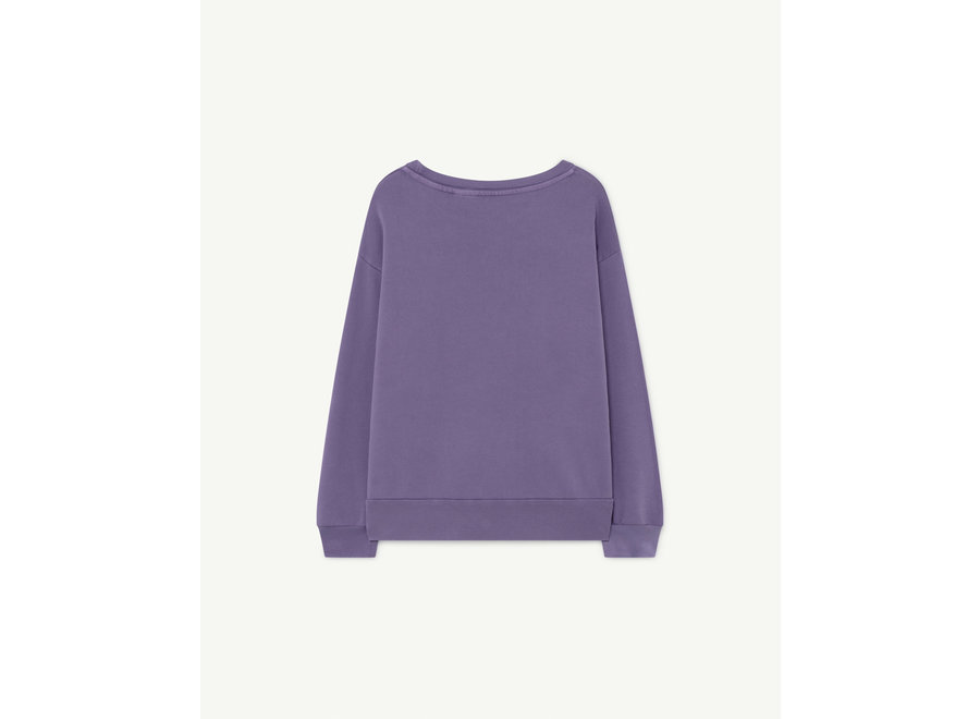 Bear Kids Sweatshirt Purple Molto