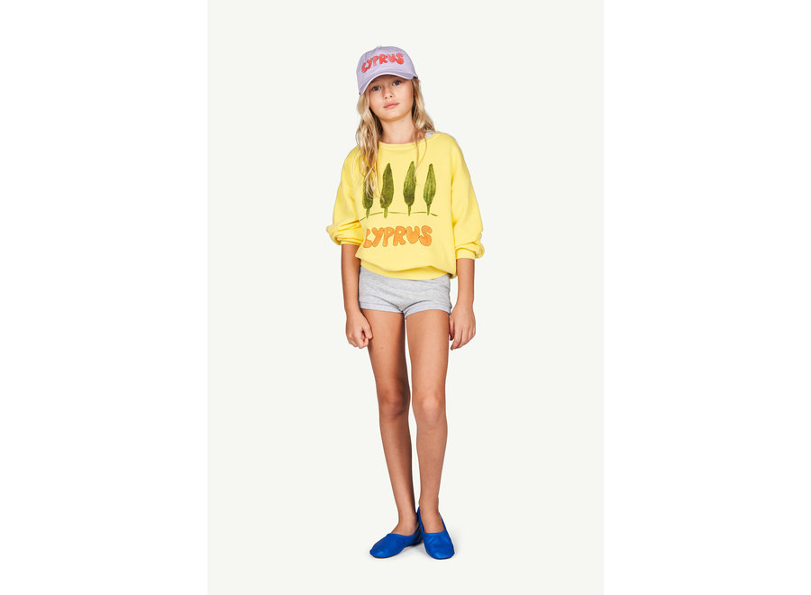 Bear Kids Sweatshirt Soft Yellow Cyprus