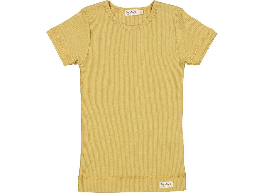 Plain Tee SS Modal T-shirt Hay