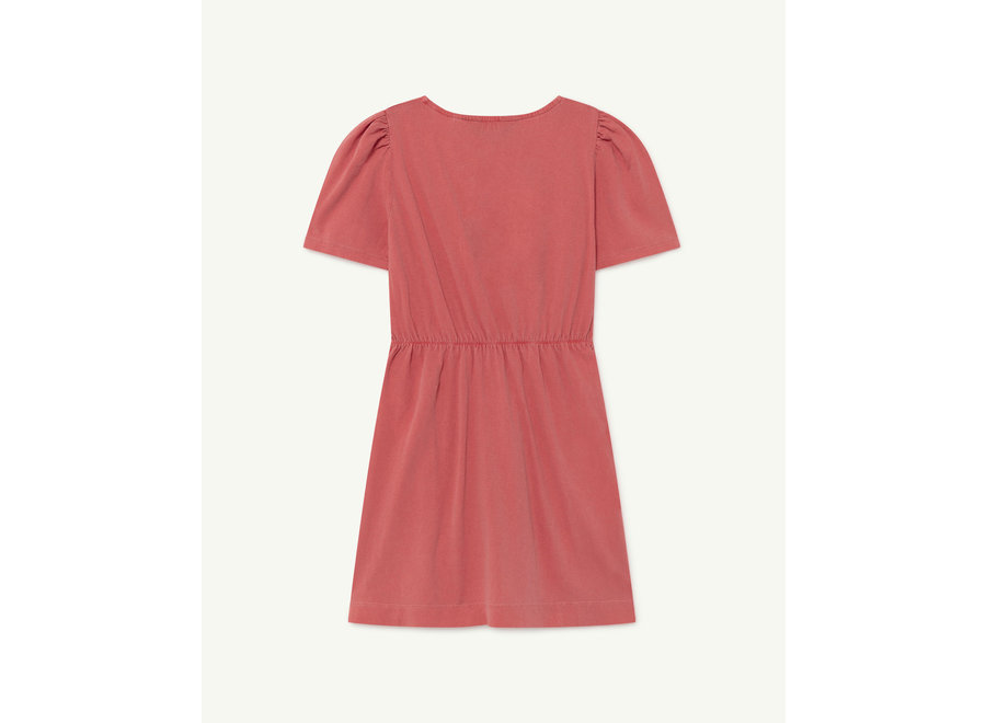 Flamingo Kids Dress Red Dolphin