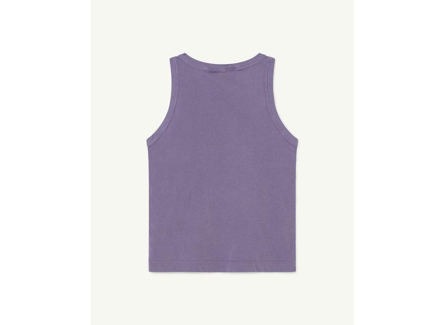 Frog Kids T-shirt Purple Flowers