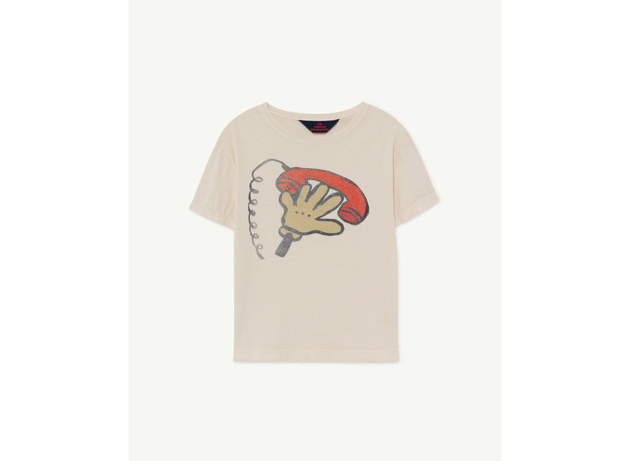 Rooster Kids + T-shirt White Telephone
