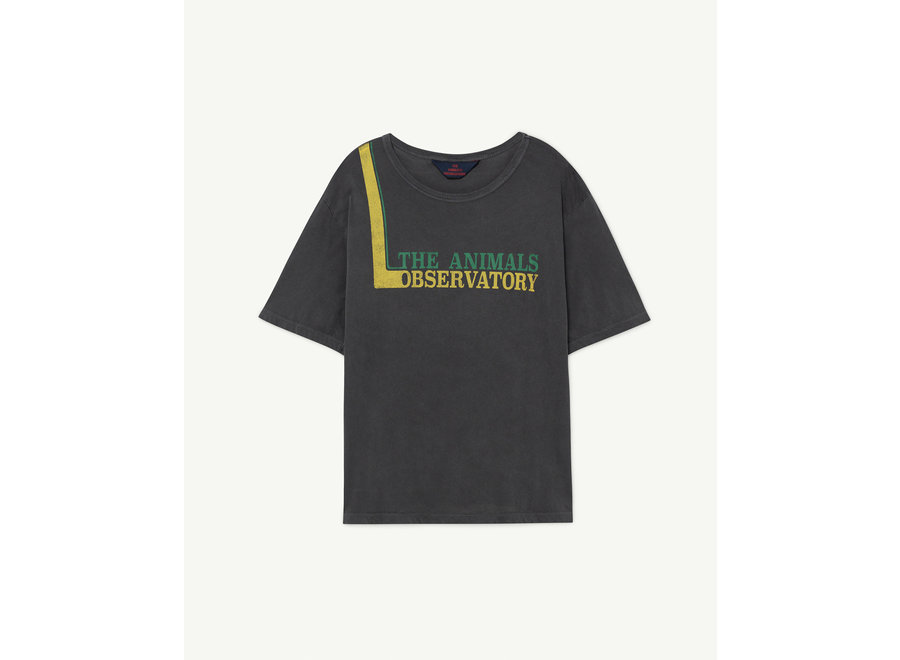 Rooster Oversize Kids + T-shirt Black Animals