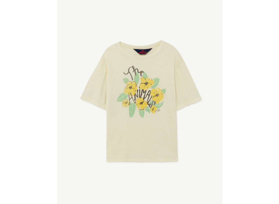 Rooster Oversize Kids + T-shirt White Flowers