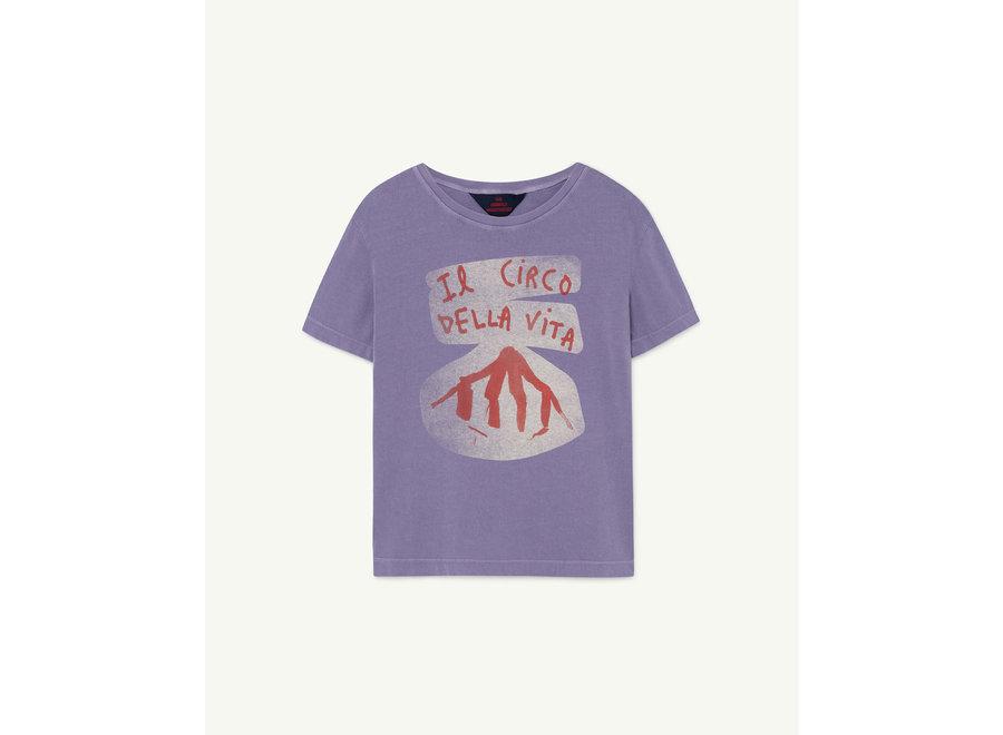 Rooster Kids + T-shirt Purple Circo