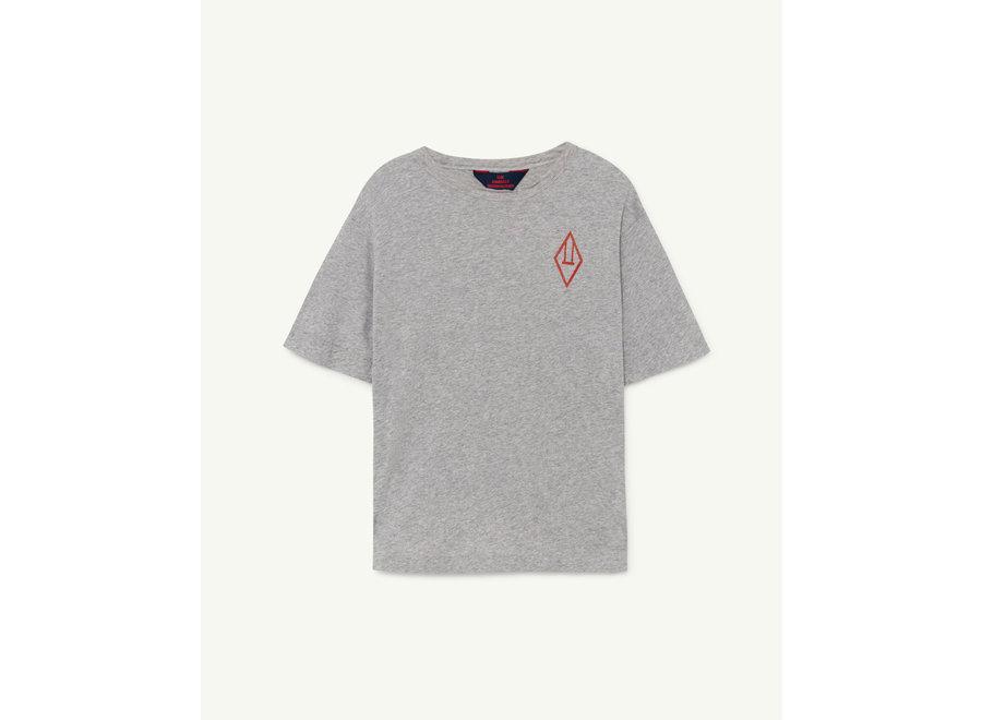 Rooster Oversize Kids + T-shirt Grey Logo