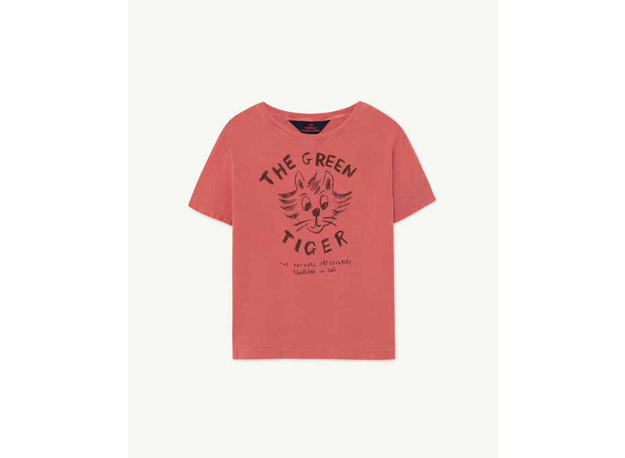 Rooster Kids + T-shirt Red Tiger