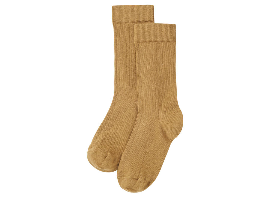 Socks Light Ochre