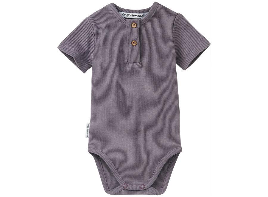 Rib Bodysuit lavender