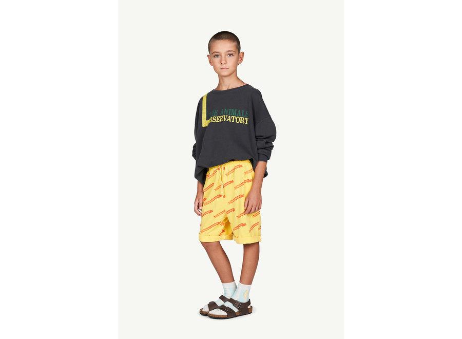 Mole Kids Trousers Yellow Ribbons