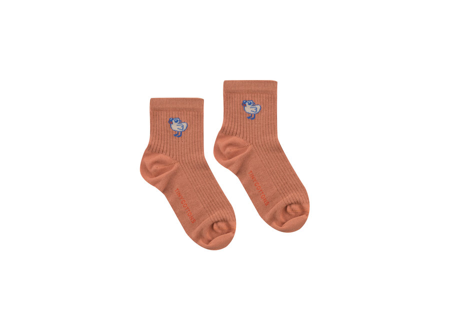 Tiny Bird Short Socks
