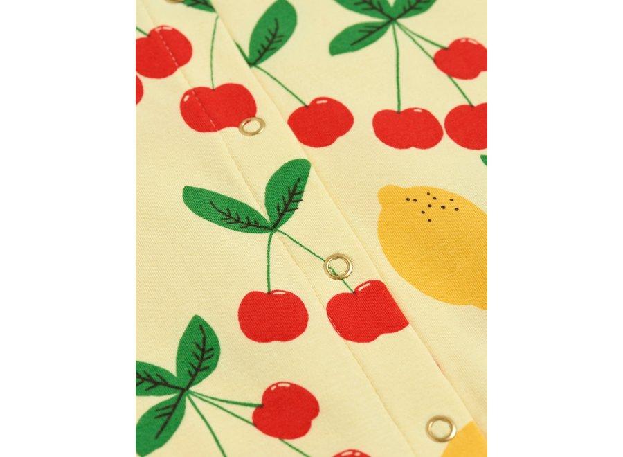 Cherry Lemonade aop Jumpsuit Yellow
