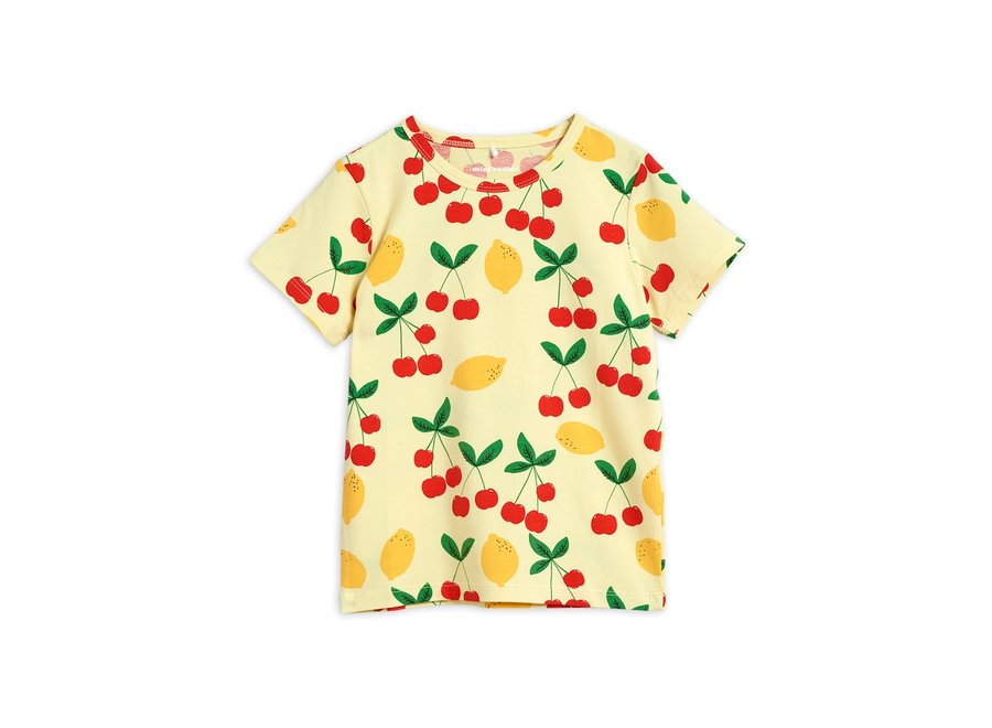 Cherry Lemonade aop ss TeeYellow