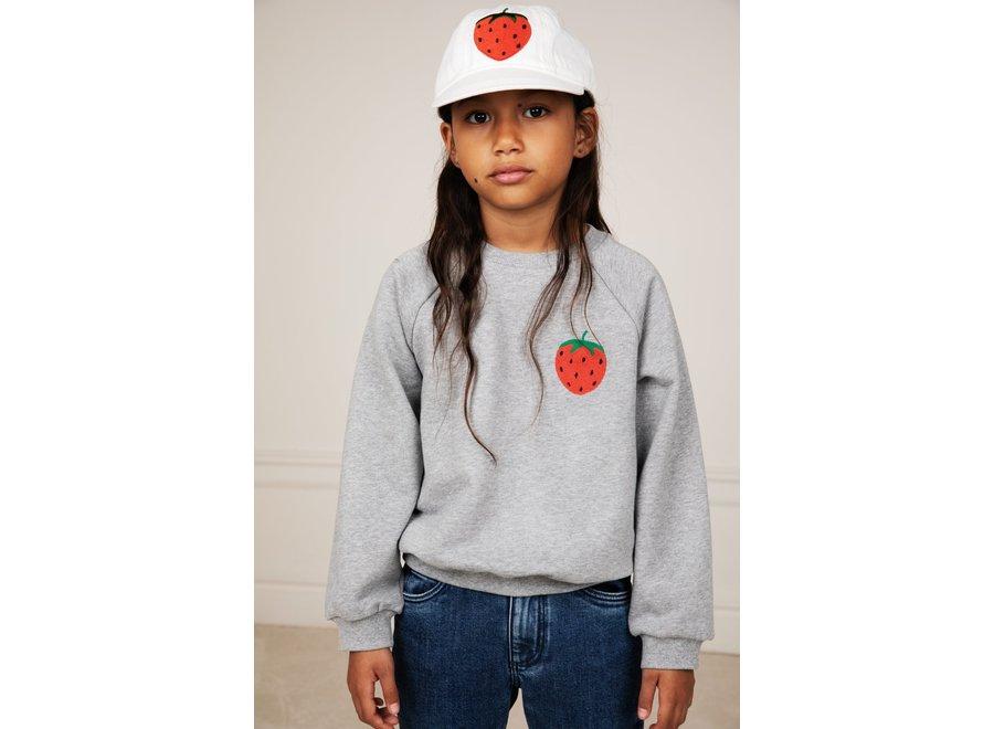 Strawberry Soft Cap White