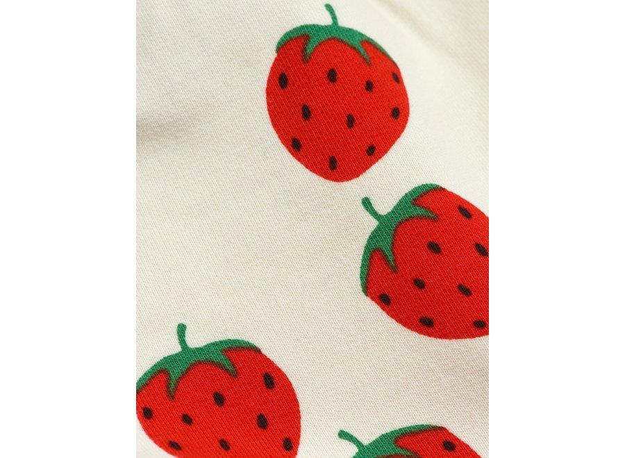 Strawberry aop Sweatshorts Off White