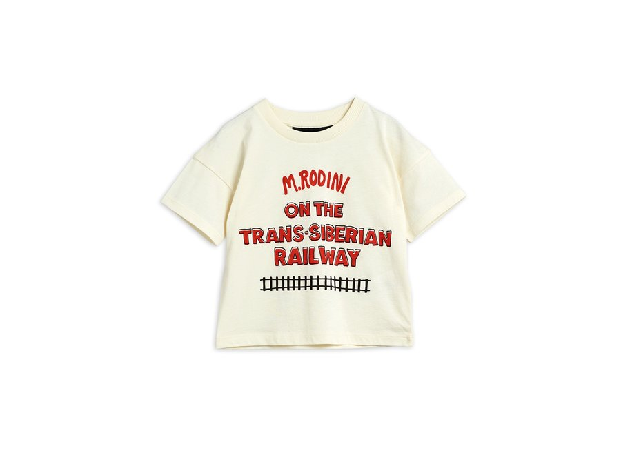 Transsiberian sp ss Tee Off White