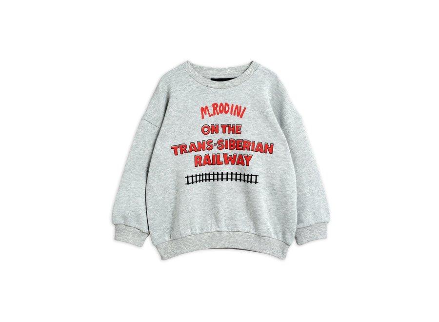 Transsiberian sp Sweatshirt Grey Melange