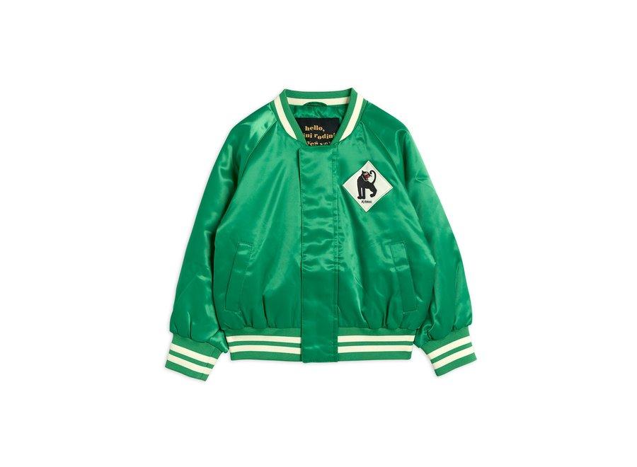 Panther Baseball Jacket Green
