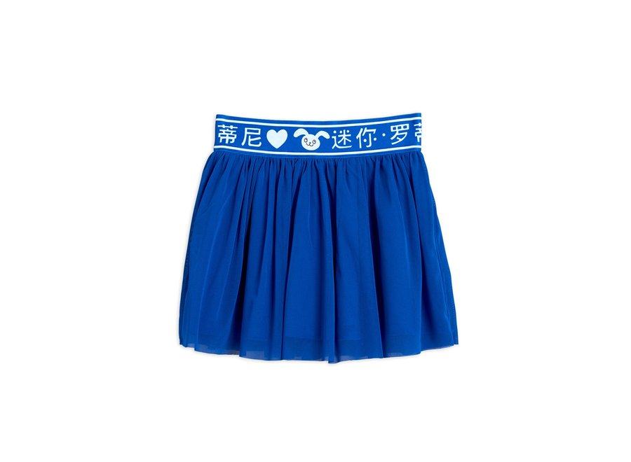 Tulle Skirt Blue