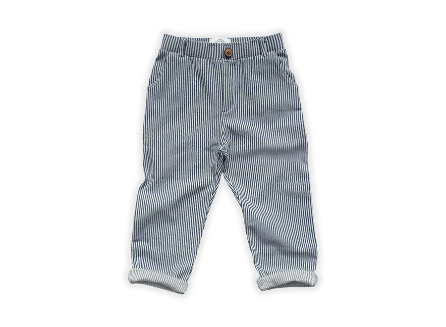 Chino Pants Denim Stripe