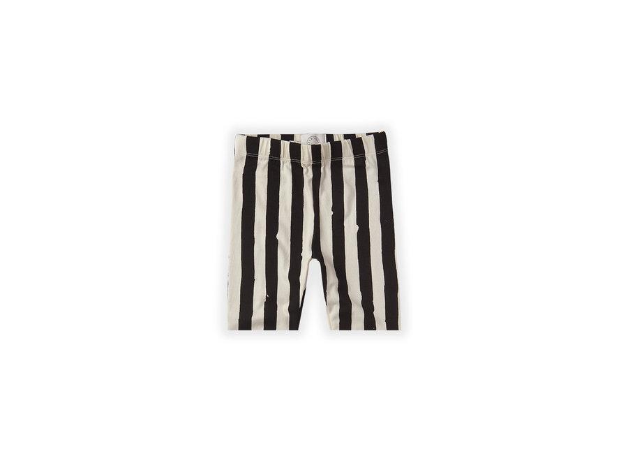 Legging short Painted Stripe