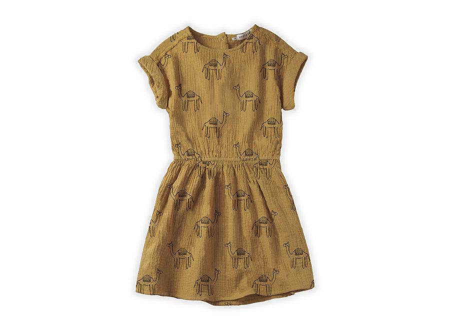 Dress Camel Print