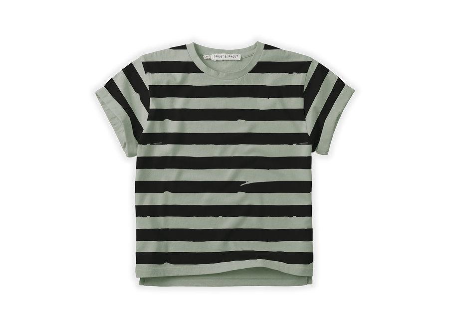 T-shirt Painted Stripe