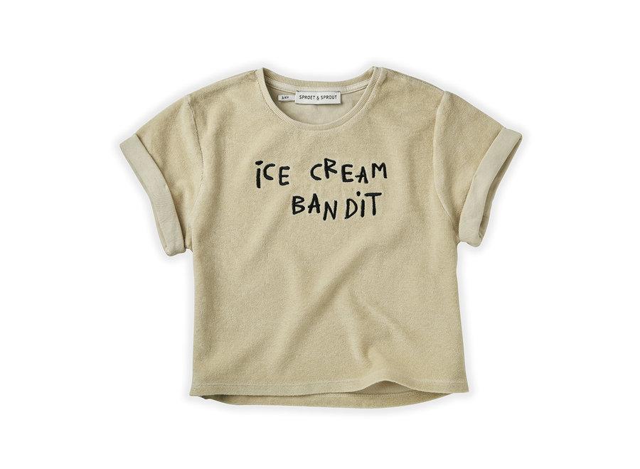 Sweat T-shirt Terry Icecream Bandit