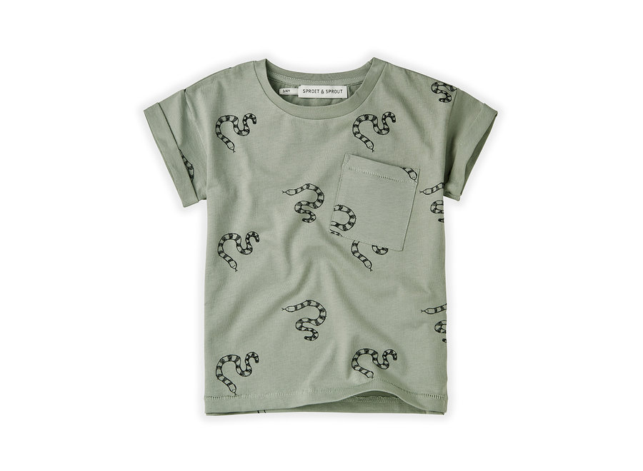 T-shirt Print Snake