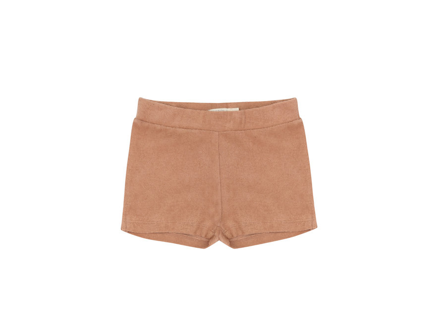 Frotté shorts Warm biscuit