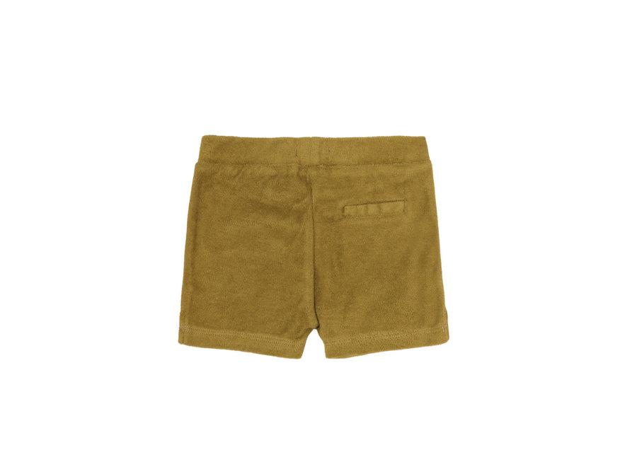 Frotté shorts Pear