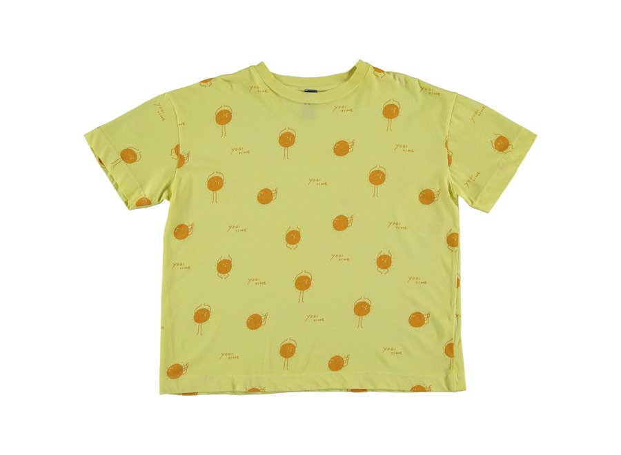 T-shirt yogi sun