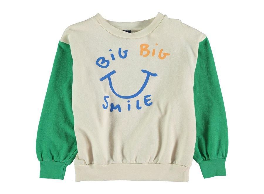 Sweatshirt big smile