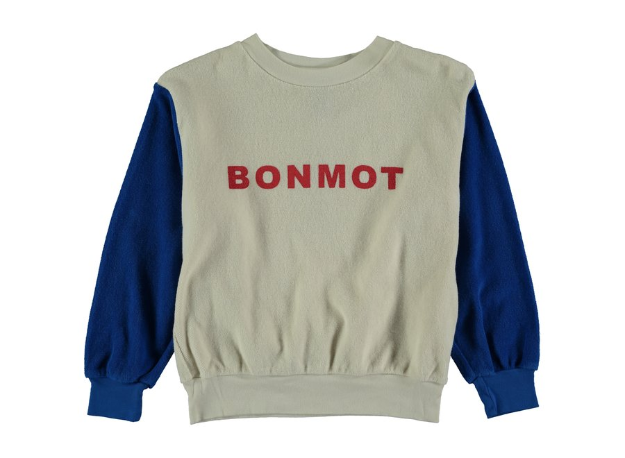 Sweatshirt terry Bonmot