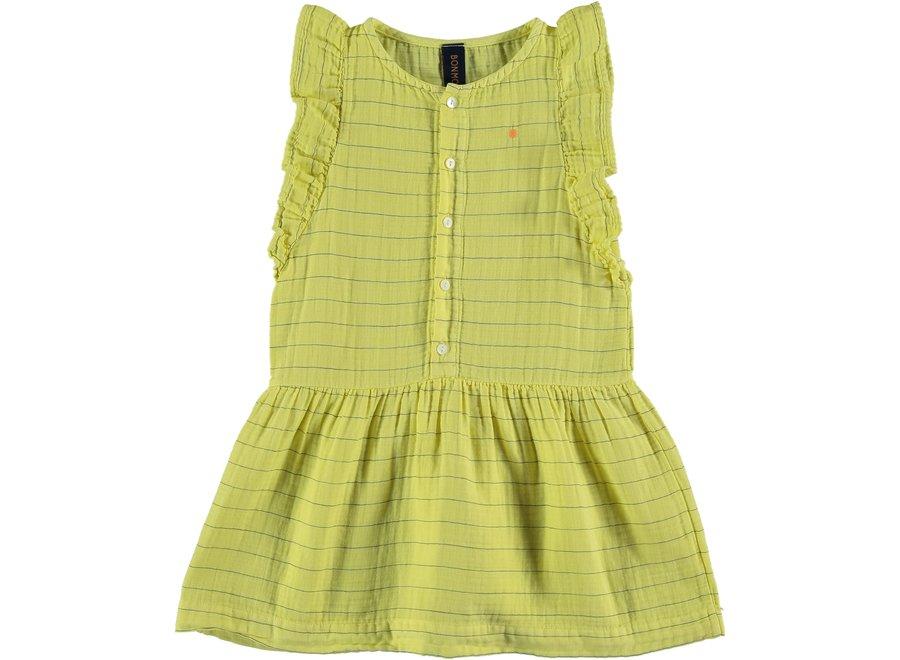 Dress frill stripes dot
