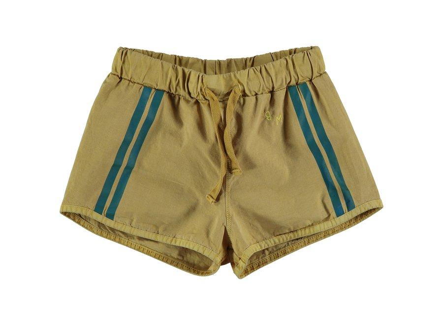 Swim short lateral stripe