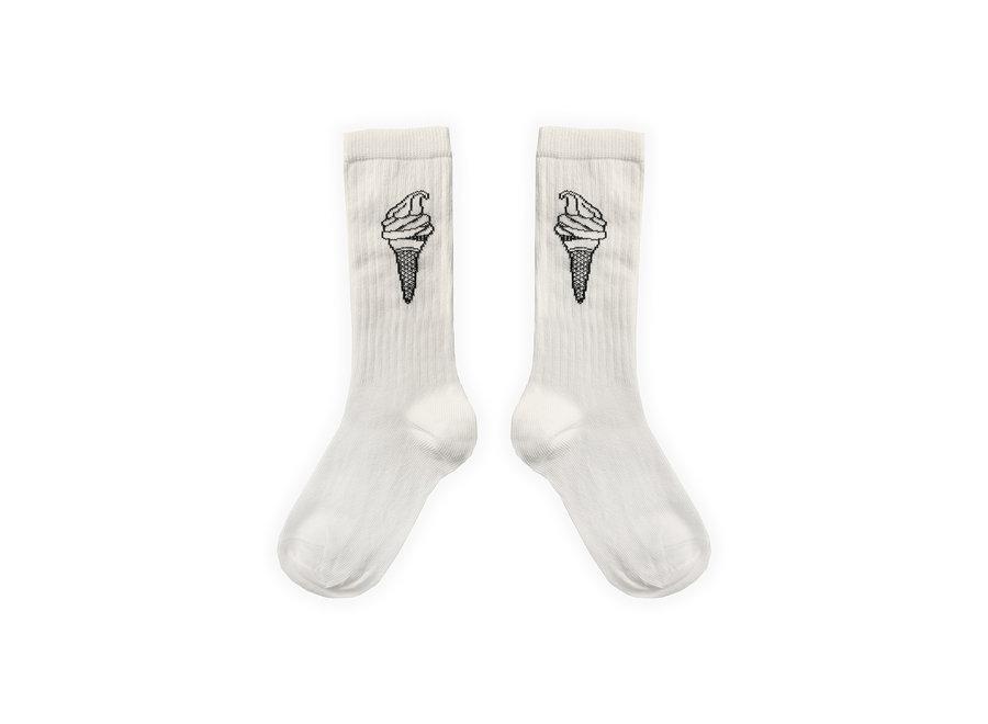 Sport Sock Ice Cream Off-White