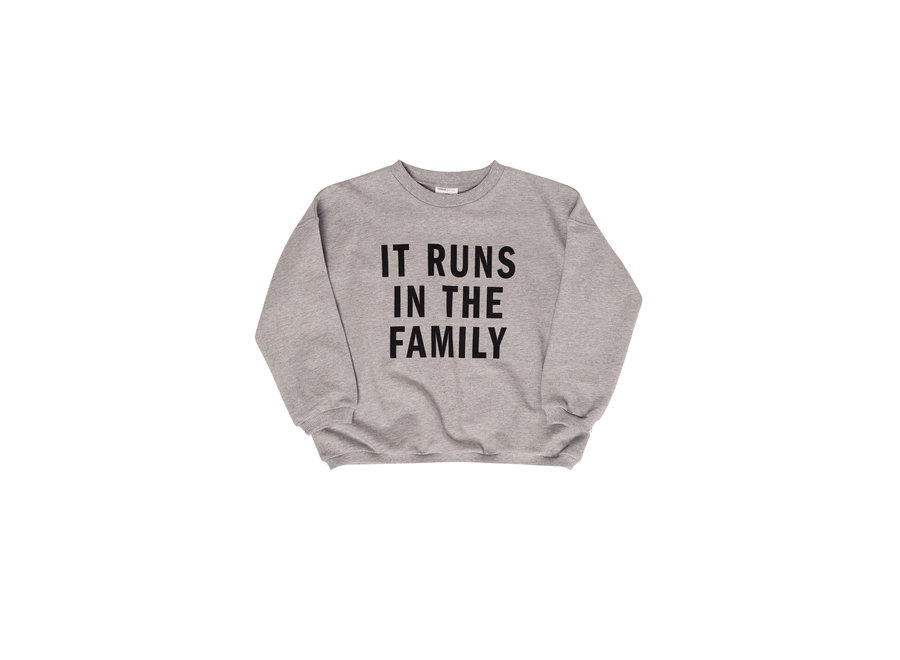It runs in the family Sweater