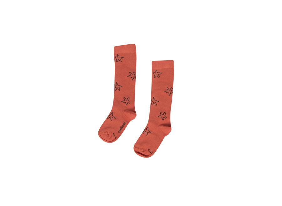 Scarlet scorpion Socks