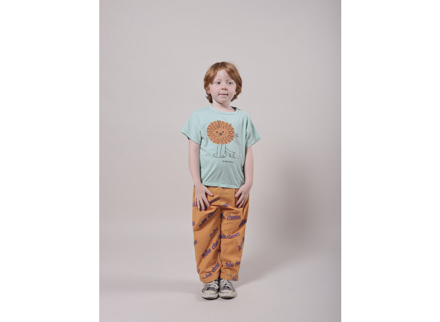Pet A Lion Short Sleeve T-Shirt KID