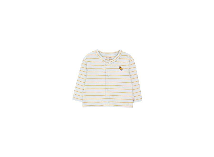 Bird Stripes Cardigan BABY