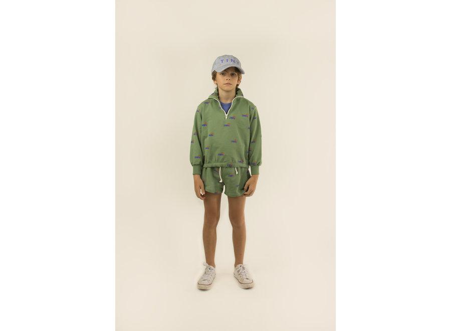 Doggy Paddle Mockneck Sweatshirt KID