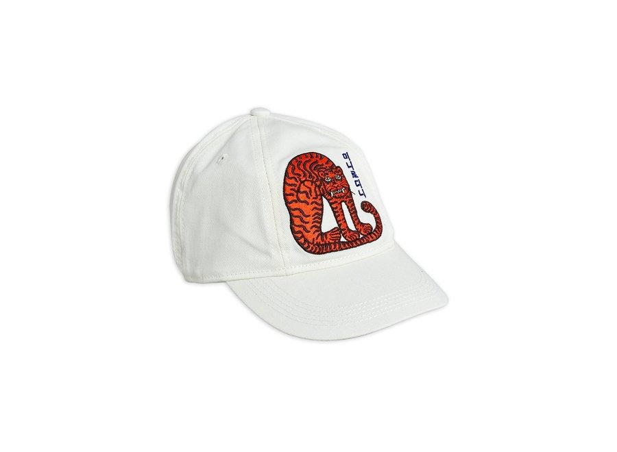 Tiger soft cap off white